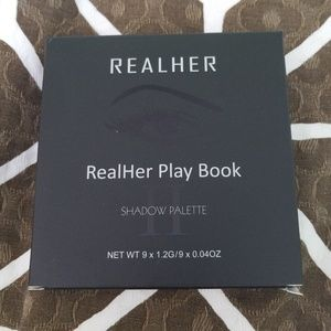 NIB Real Her play book eyeshadow palette